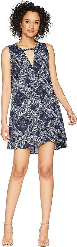 Dylan by True Grit Modern American Bandana Sleeveless Dress