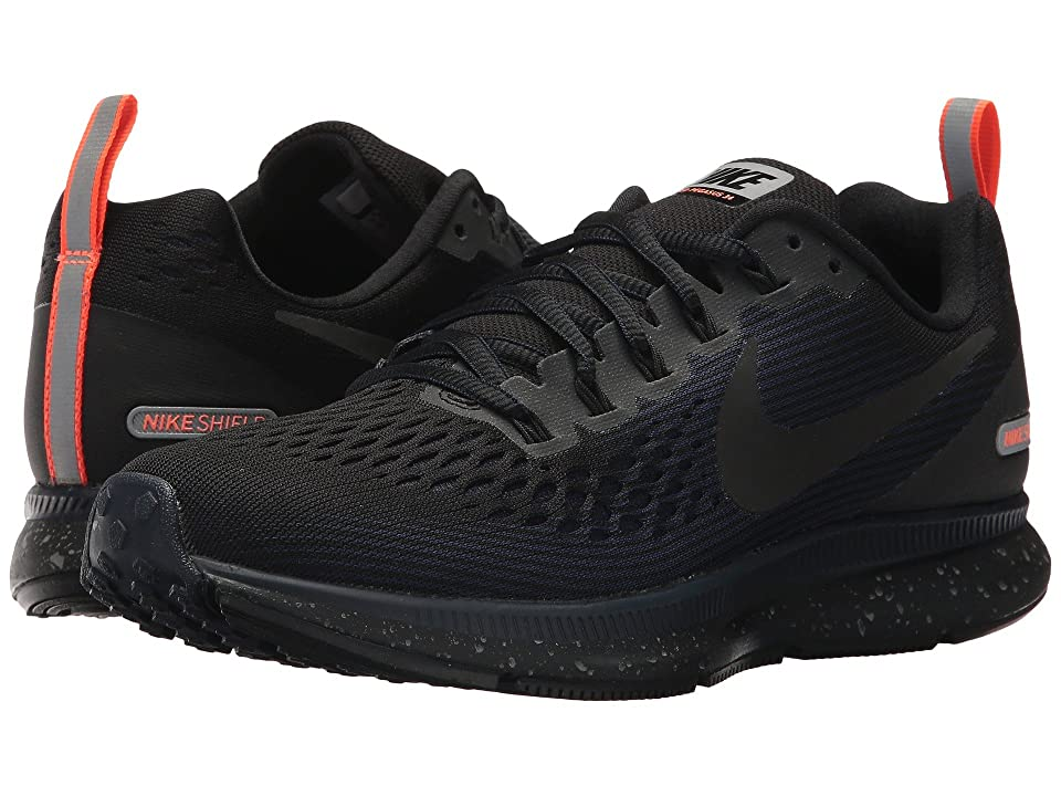 Nike Air Zoom Pegasus 34 Shield (Black/Black/Black/Obsidian) Women