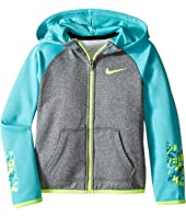 Nike Kids - Thermal Hoodie Full Zip At Graphic (Toddler)