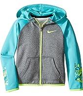 Nike Kids - Thermal Hoodie Full Zip At Graphic (Toddler)