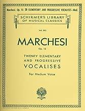 20 Elementary and Progressive Vocalises, Op. 15 Medium Voice (Schirmer Library of Musical Classics Vol. 593)