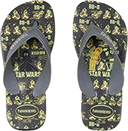 Havaianas Kids - Max Star Wars Flip Flops (Toddler/Little Kid/Big Kid)