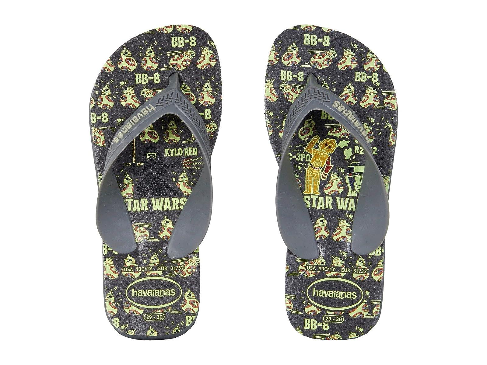 Havaianas Kids Max Star Wars Flip Flops (Toddler/Little Kid/Big Kid)Atmospheric grades have affordable shoes