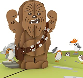 Star Wars Chewbacca RARRRGGHH! Pop Up Card, 3D Card, Birthday Card, Greeting Card