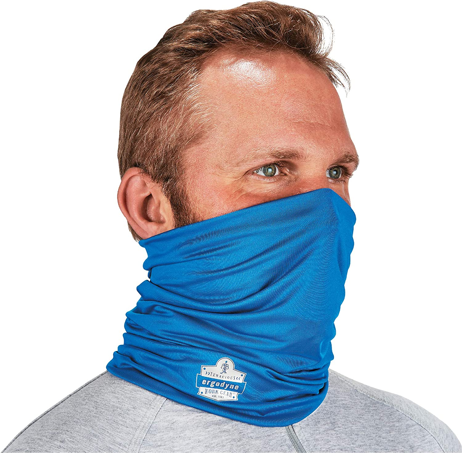 Ergodyne Chill-Its 6487 Cooling Neck Ways Boston Mall Multiple Gaiter to We Max 76% OFF