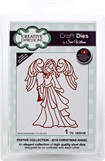 Creative Expressions CED3128 Festive Craft Dies by Sue Wilson, Christmas Angel