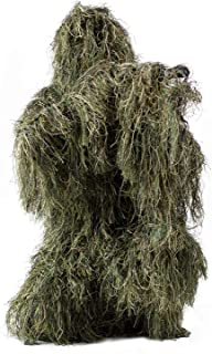 CZJUN Ghillie Suit Camo Woodland Camouflage Forest Hunting 4-Piece + Bag