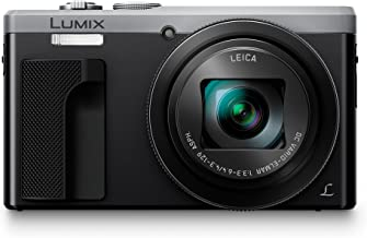PANASONIC LUMIX 4K Point and Shoot Camera, 30X LEICA DC Vario-ELMAR Lens F3.3-6.4, 18 Megapixels, High Sensitivity Sensor, DMC-ZS60S (SILVER)