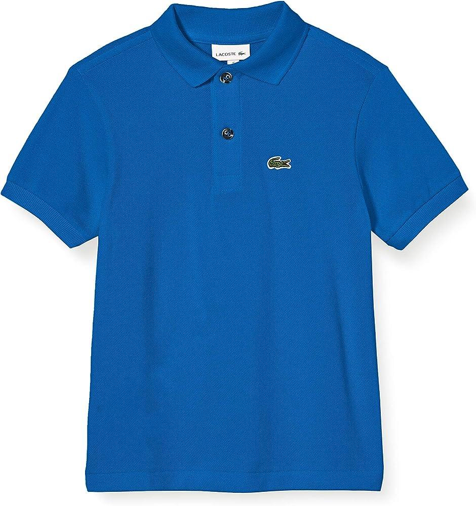 Lacoste polo , maglietta per  bambino/ ragazzo a maniche corte , da 1 anno ai 16 anni , 100% cotone PJ2909