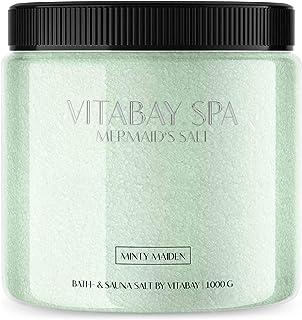 Sauna et sel de bain de différentes fragrances 1000g (Minty Maiden)