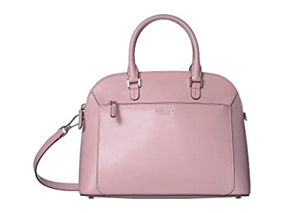 Kate Spade New York Louise Medium Dome Satchel (Tutu Pink) Bags