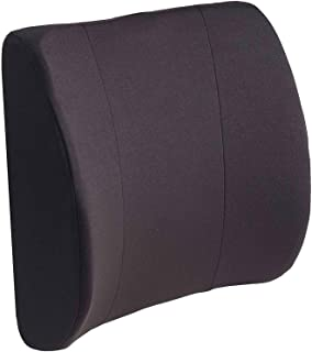 DMI Lumbar Support Pillow for Office or Kitchen Chair, Car Seat or Wheelchair comes with Removable Washable Cover and Firm...