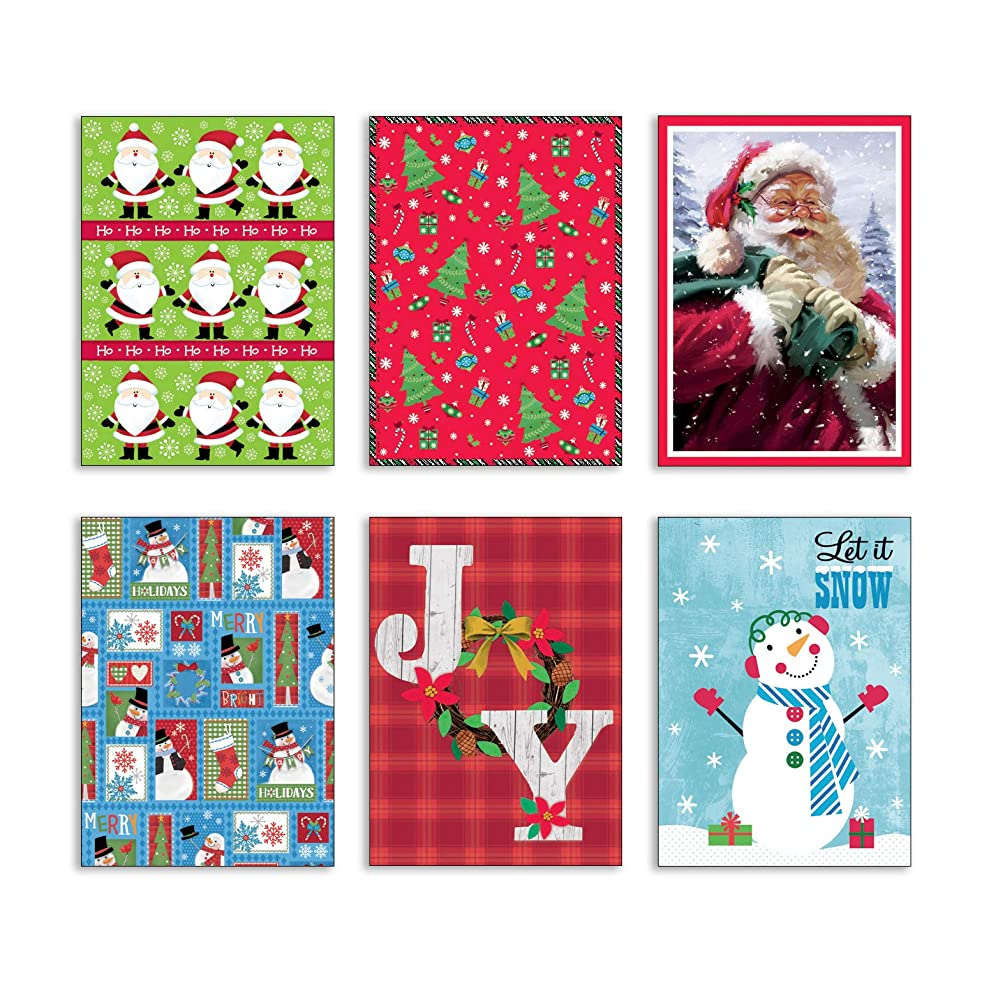 Bundle of 6 Holiday Gifting Boxes. Christmas Themed Clothes Gift Boxes 6 Different Designs