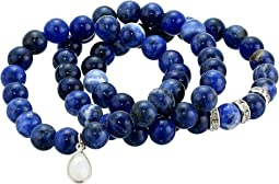 Sodalite Beaded Bracelet Set