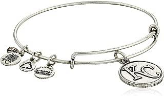 Alex and Ani Kansas City Royals Cap Logo Expandable Bangle Bracelet