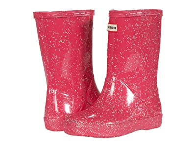 Hunter Kids Original First Classic Giant Glitter Wellington Boots (Toddler/Little Kid) (Thrift) Kid