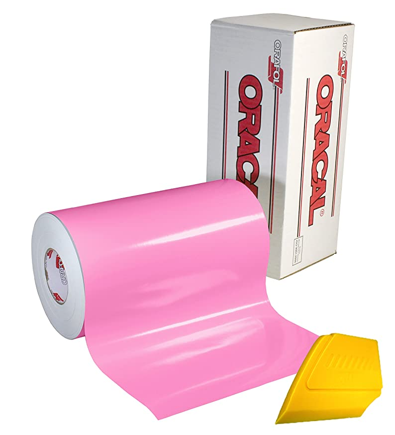 ORACAL 651 Gloss Pink Adhesive Craft Vinyl 16
