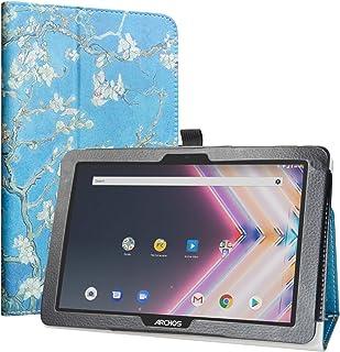 Labanema Funda para Archos Core 101 3G Ultra, Slim Fit Carcasa de Cuero Sintético con Función de Soporte Folio Case Cover para 10.1