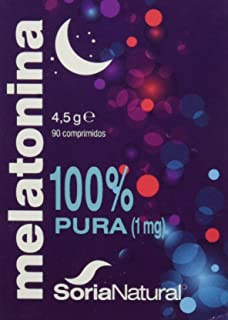 Soria Natural Melatonina Vitaminas - 90 Cápsulas