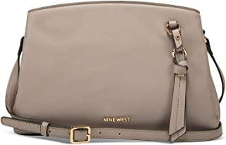 Nine West Women's Maisie A-List Crossbody Shoulder Bag - Greystone
