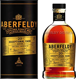 Aberfeldy 20 Jahre SMALL BATCH Exceptional Cask Serie Limitierte Auflage Single Malt Whisky 1 x 0.7 l