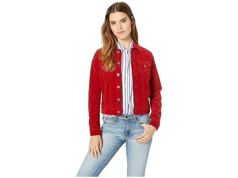 AG Adriano Goldschmied Robyn Jacket (Red Amaryllis) Women's Coat