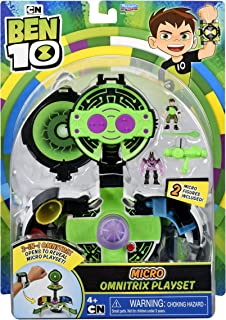 Ben 10 Inside The Omnitrix Micro World Playset