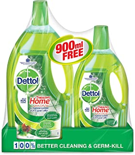Dettol Multi Purpose Cleaners, Liquid, 1.8L With 900 ml Free