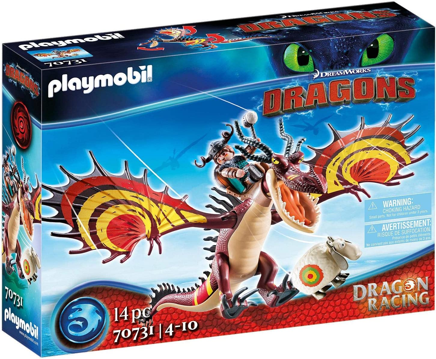 Playmobil Dragon Racing: Hookfang Nippon regular agency Recommendation Snotlout and