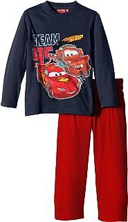 Disney Pixar Lightning McQueen Ragazzi//Bambino Pigiama 2 Pezzo Pantaloncini Set 2-8 Anni