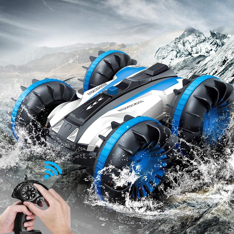unisex Amphibious Quantity limited Remote Control Car for R GHz 2.4 Kids 4WD