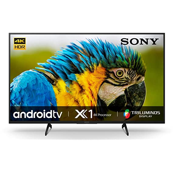 Sony Bravia 108 cm (43 inches) 4K Ultra HD Smart Android LED TV 43X7400H (Black) (2020 Model)