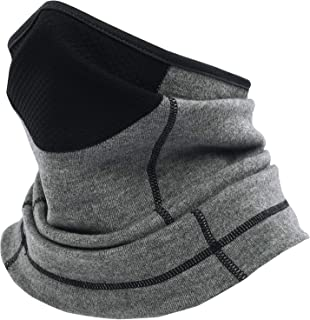 Rumsfel Neck Warmer Snoods for Men & Women, Neck Gaiter Tube, Multifunctional Winter Face Scarf with Mouth Breathable Mesh...