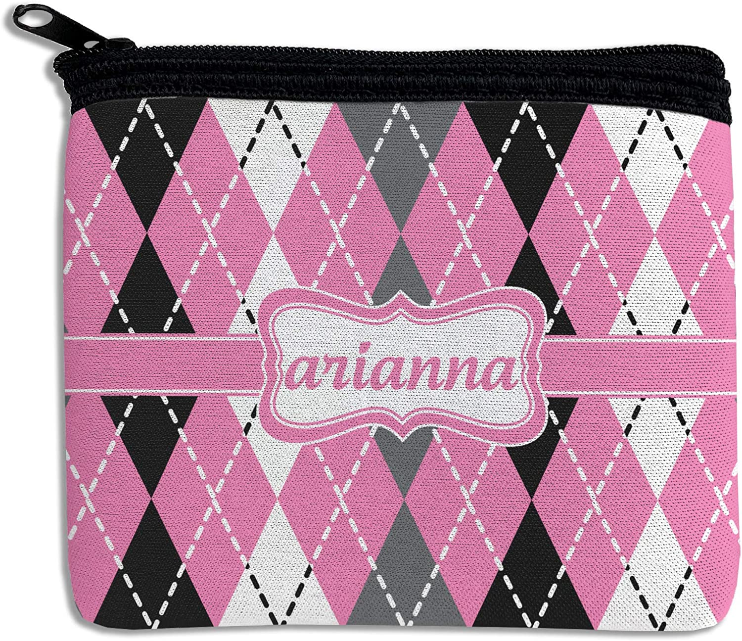 Argyle Outlet sale feature Rectangular Coin Personalized Purse Recommended