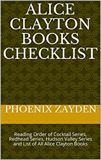 Alice Clayton Books Checklist: Reading Order of Cocktail Series, Redhead Series, Hudson Valley Series and List of All Alice Clayton Books