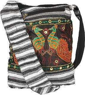 Hobo Shoulder Bag Messenger Casual Everyday Large Hippie Market Thick Functional