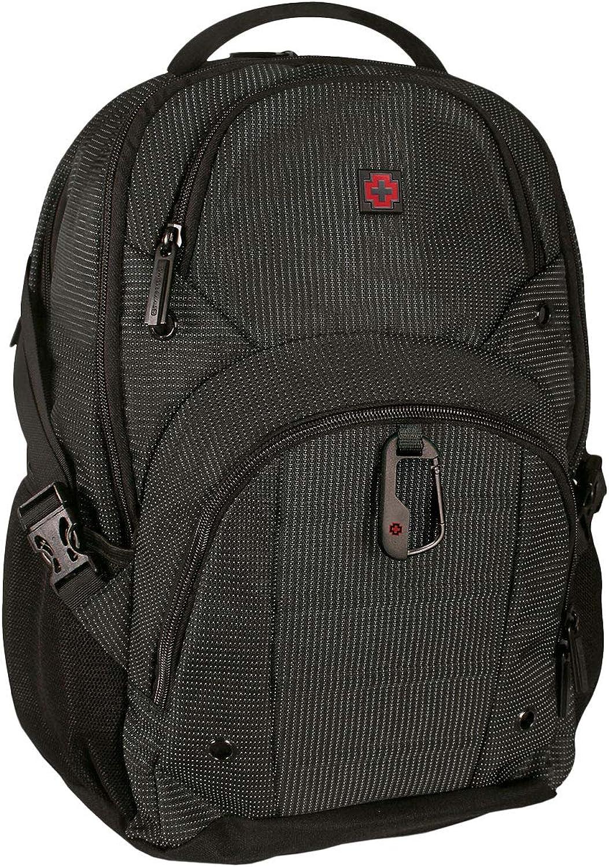 Swissbrand Men's Stanford Backpack 45Cm