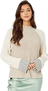 Alta Color Block Pullover Sweater