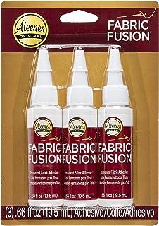 Aleene's Fabric Fusion Glue, 3-Pack