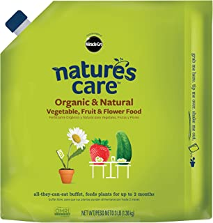 Miracle-Gro M Nature's Care Organic and Natural Vegetable Fruit and Flower Food