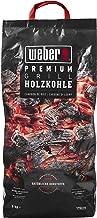 Weber Premium Holzkohle 5 kg Carbón vegetal, Negro