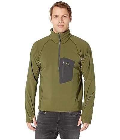 Mountain Hardwear Keeletm Pullover (Dark Army) Men