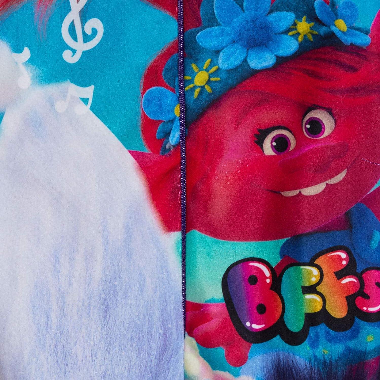 Pijama para ni/ña de Trolls Onesie World Tour con forro polar todo en uno