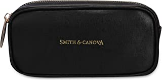 Smith & Canova Womens Zip Round Glasses Case Wallet