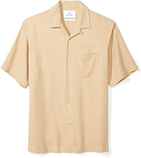 Amazon Brand - 28 Palms Men's Relaxed-Fit Camp Shirt
