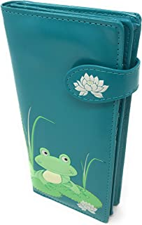 Shagwear Large Women's Frog Wallet - - Large