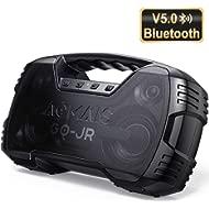 Portable Bluetooth Speakers V5.0, Waterproof Wireless Home Party Speaker, 25W Rich Bass...