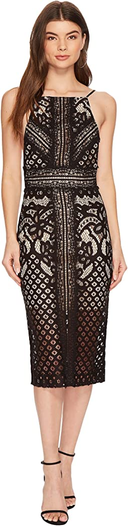 KEEPSAKE THE LABEL - Bridges Lace Midi Dress