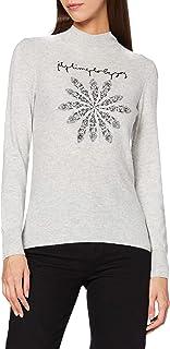 Desigual Women's JERS_ÉVORA Pullover Sweater