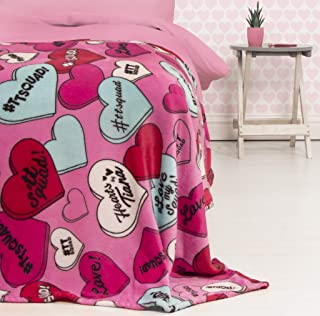Hearts by Tiana Chic Fleece Blanket